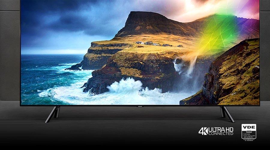 Smart Tivi Samsung 4K QLED 75 inch QA75Q75RA