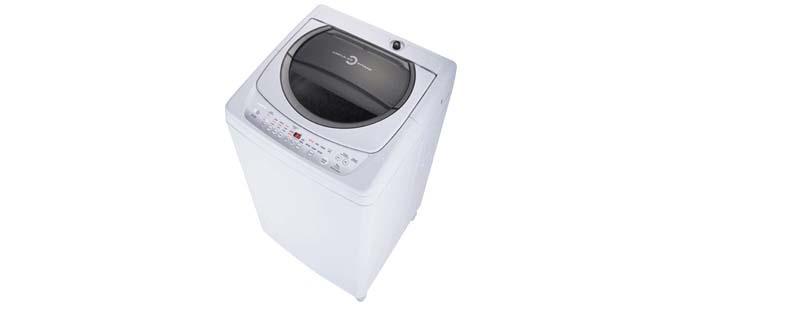 Máy giặt Toshiba có thiết kế đơn giản, trung tính