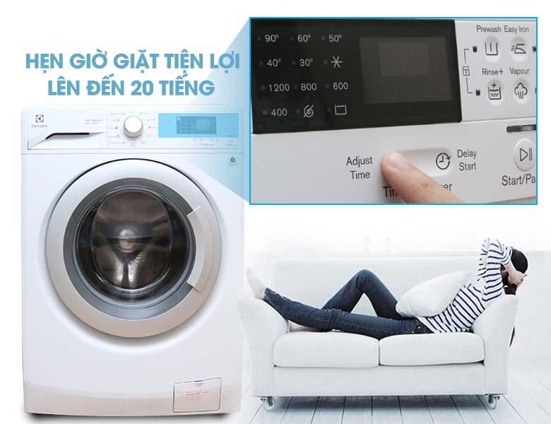 Chức năng hẹn giờ giặt tiện lợi
