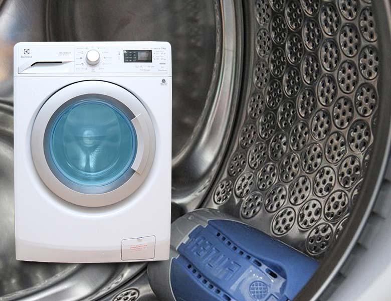 Lồng giặt tổ ong có khả năng chống bào mòn quần áo