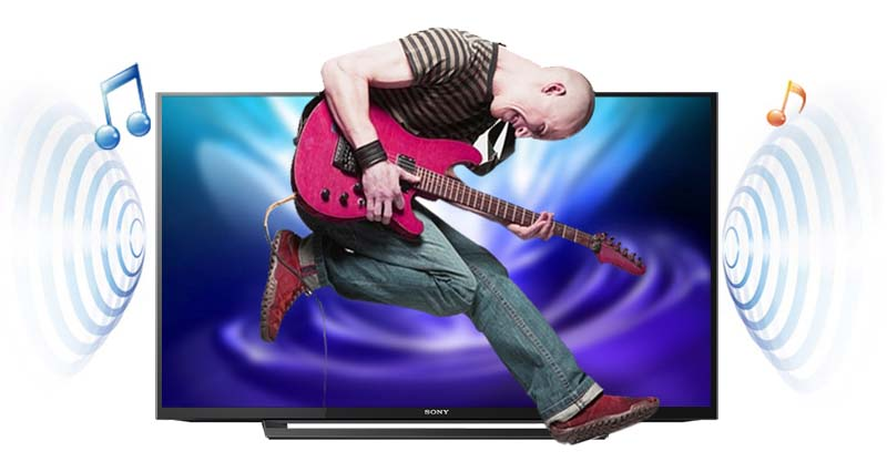Tivi Sony 40 inch KDL-40R350D - Âm thanh kỹ thuật số