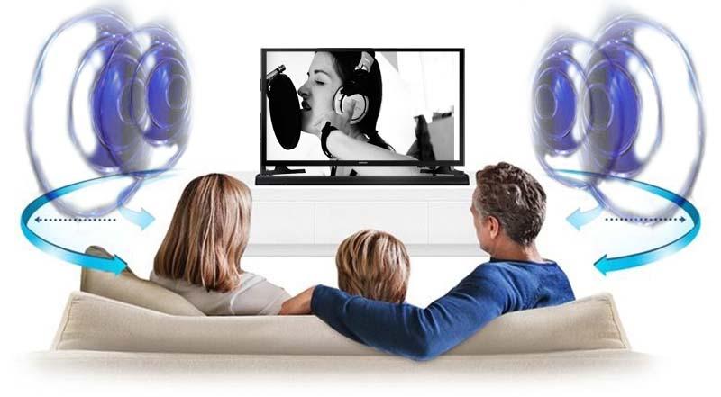 Tivi LED Samsung UA32J4003 32 inch - Công nghệ DTS Sound Studio giúp mang đến cho bạn một thế giới âm thanh hoành tráng và mạnh mẽ