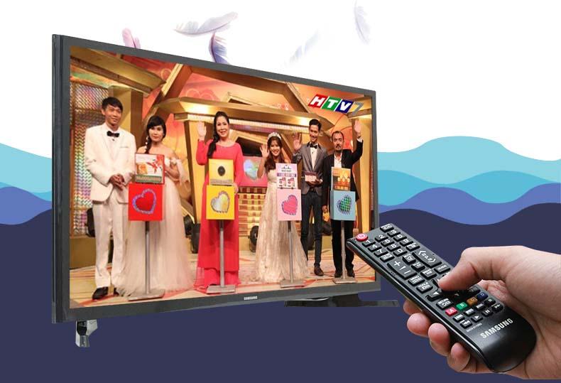 Tivi LED Samsung UA32J4003 32 inch -  Với đầu thu DVB-T2 có sẵn, tivi có thể thu được các kênh truyền hình kỹ thuật số miễn phí