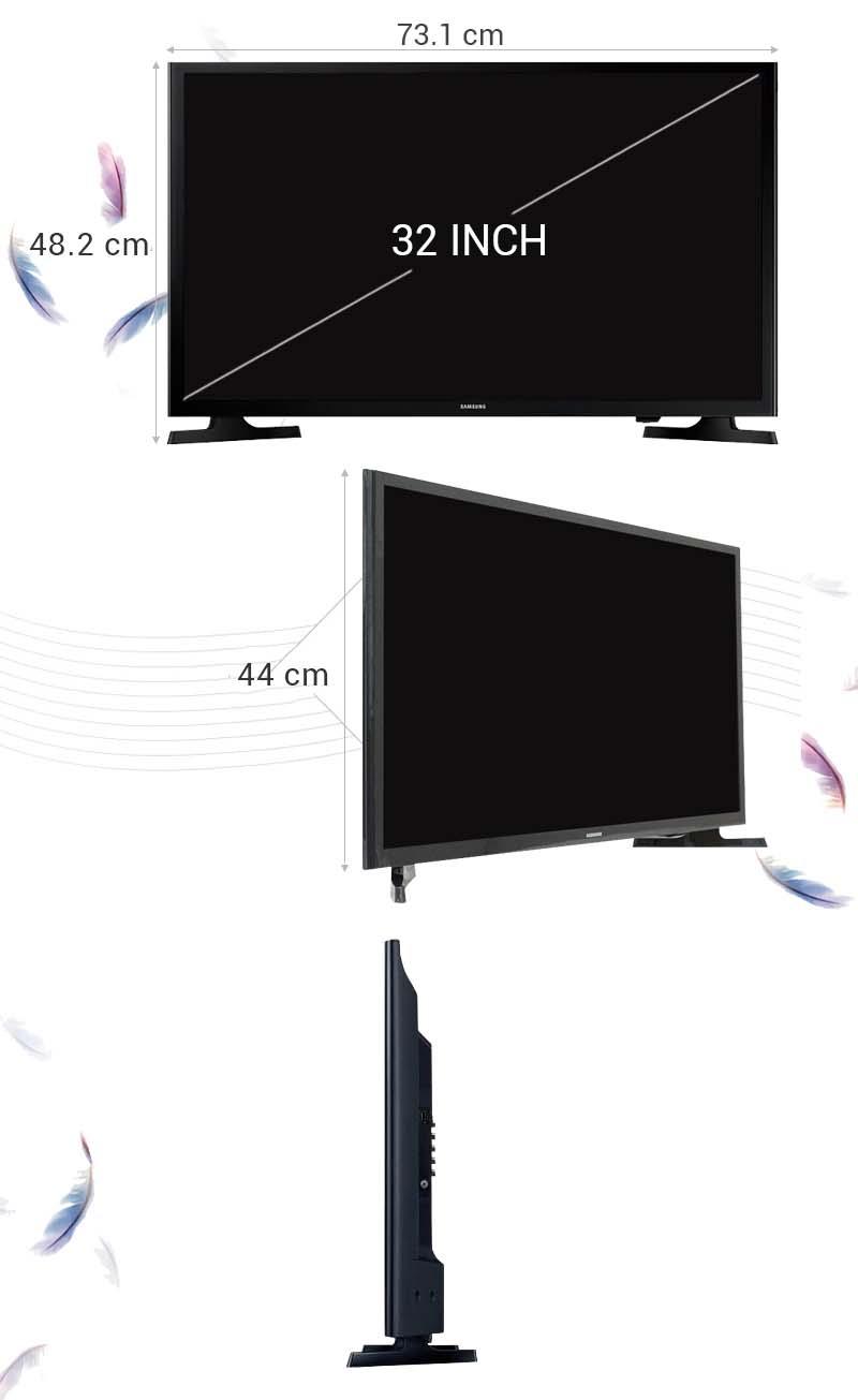 Tivi LED Samsung UA32J4003 32 inch - Thông số kỹ thuật