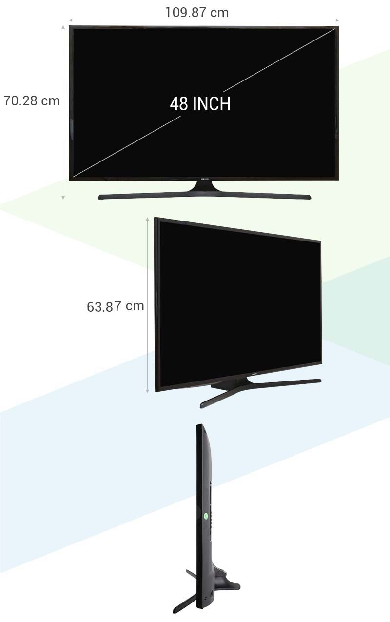 Tivi LED Samsung UA48J5000 48 inch - Thông số kỹ thuật