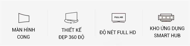 Smart Tivi Cong Samsung 49 inch UA49K6300 - Đặc điểm nổi bất