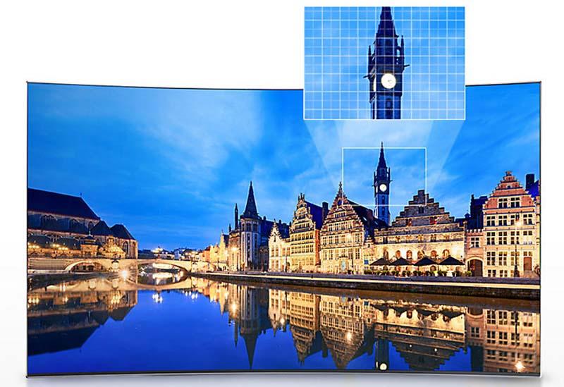 Smart Tivi Cong Samsung 49 inch UA49K6300 - Công nghệ hình ảnh hiện đại
