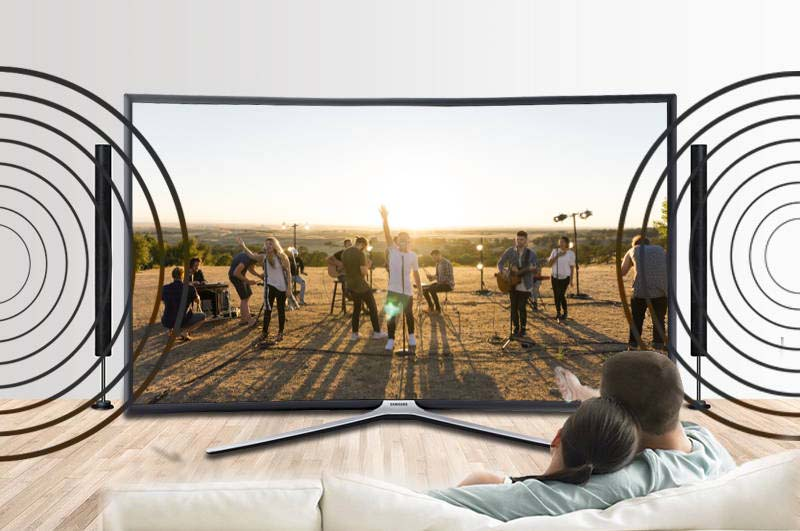 Smart Tivi Cong Samsung 49 inch UA49K6300-Âm thanh nổi bật