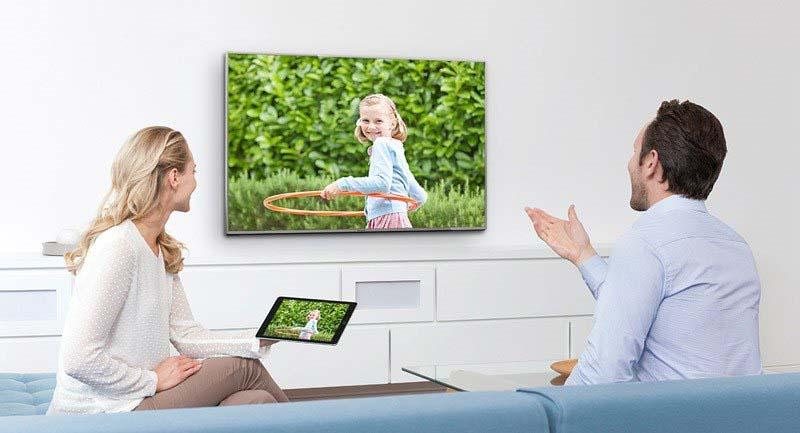 Internet Tivi Panasonic 40 inch TH-40DS490V – Chiếu màn hình điện thoại lên tivi