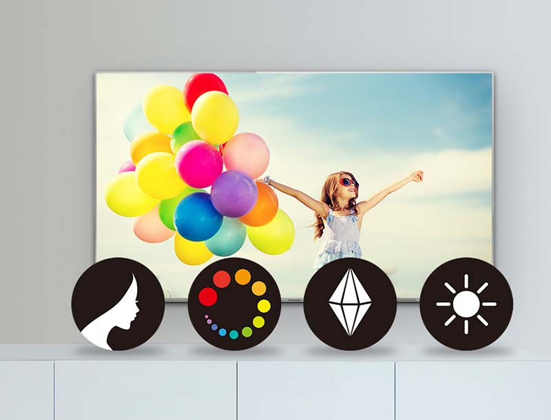 Công nghệ Vivid Digital Pro tái tạo màu sắc tươi sáng