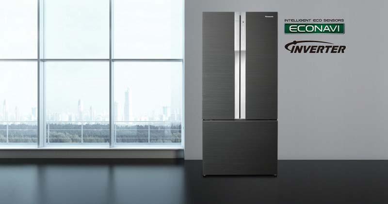 Tủ lạnh Panasonic NR-CY557GKVN được thiết kế mang những đường nét tinh tế của phong cách châu Âu