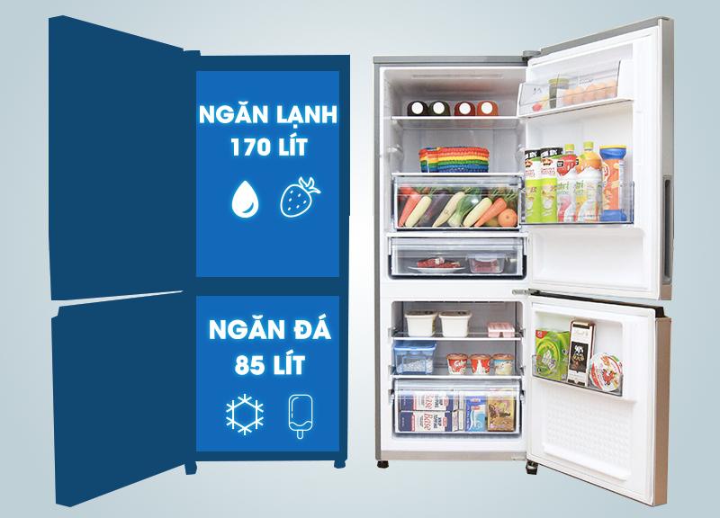Tủ lạnh Panasonic NR-BV288XSVN 255