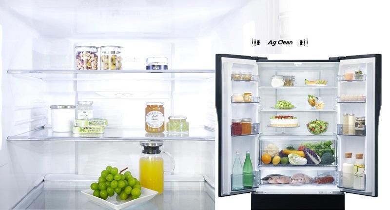 Tinh thể bạc Ag Clean kháng khuẩn, khử mùi tối ưu cho tủ lạnh