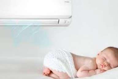 Lựa chọn máy lạnh phù hợp cho trẻ nhỏ và người già.