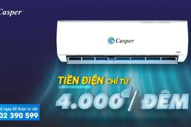 Máy lạnh Casper có tiết kiệm điện không?