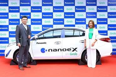 Panasonic cung cấp giải pháp không khí sạch toàn diện nanoe™ X cho 2.000 xe GrabCar tại Việt Nam