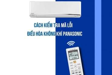 Bảng mã lỗi máy lạnh Panasonic