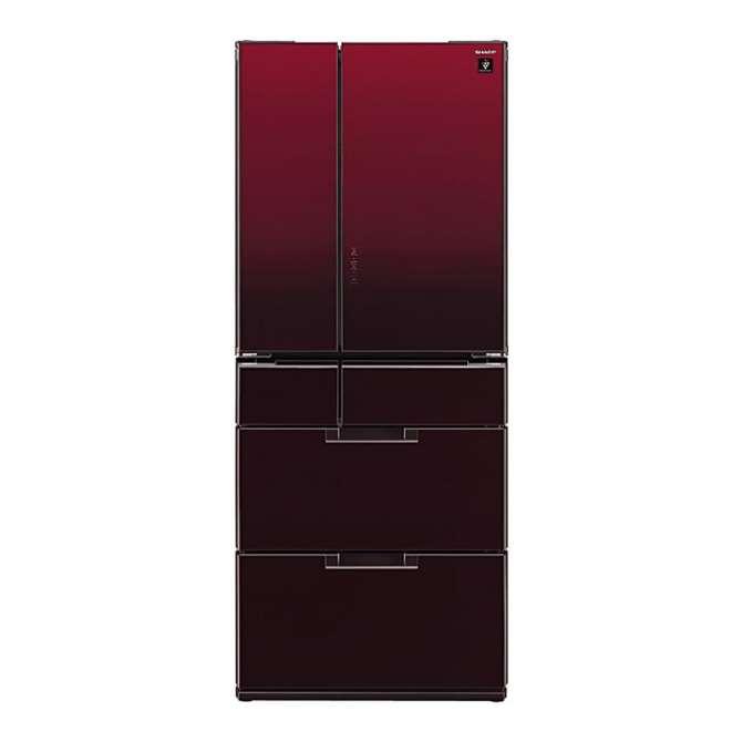 Tủ lạnh Sharp inverter 601 lít SJ-GF60A-R