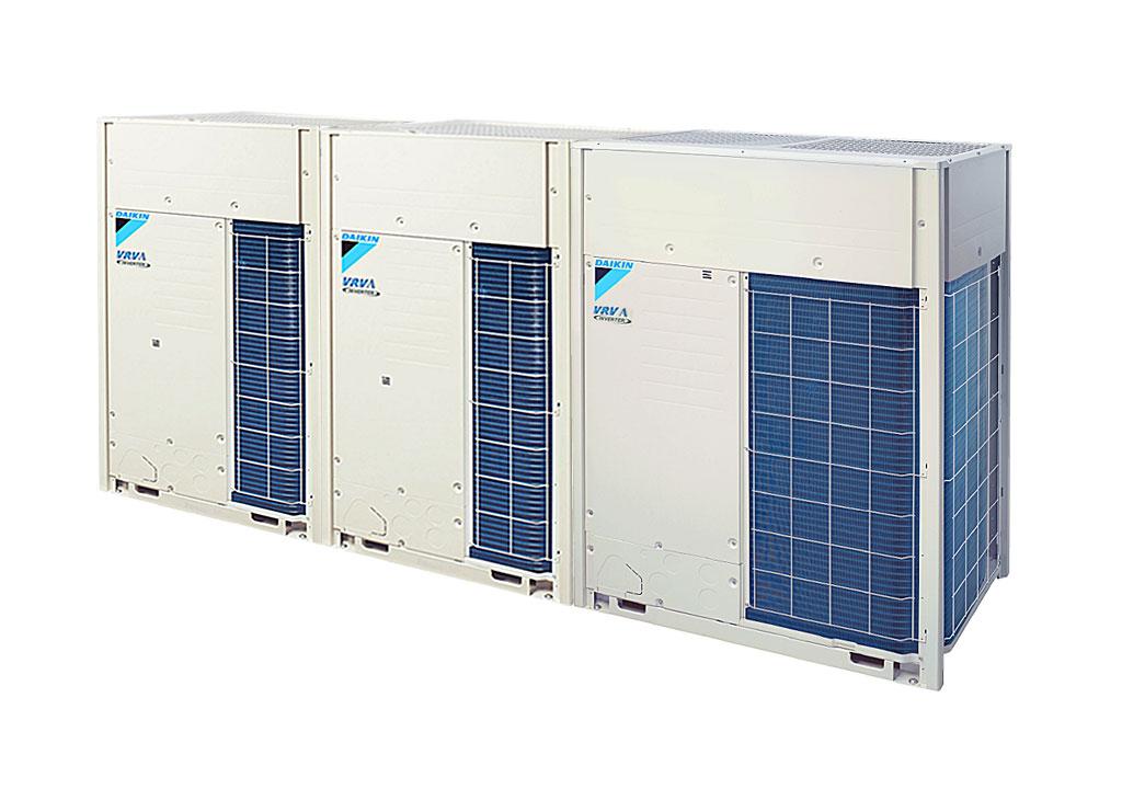 Tổ hợp dàn nóng VRV A Daikin inverter (44.0Hp) RXQ44AMYM(W) (RXQ12AYM + RXQ12AYM + RXQ20AYM)