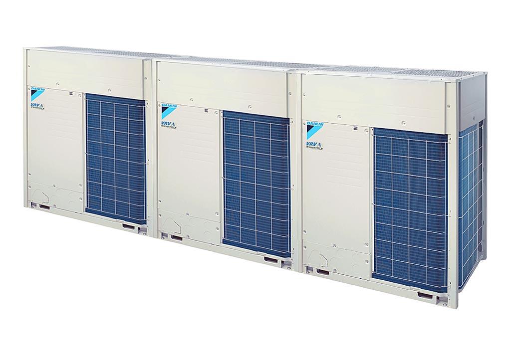 Tổ hợp dàn nóng VRV A Daikin inverter (60.0Hp) RXQ60AMYM(W) (RXQ20AYM + RXQ20AYM + RXQ20AYM)