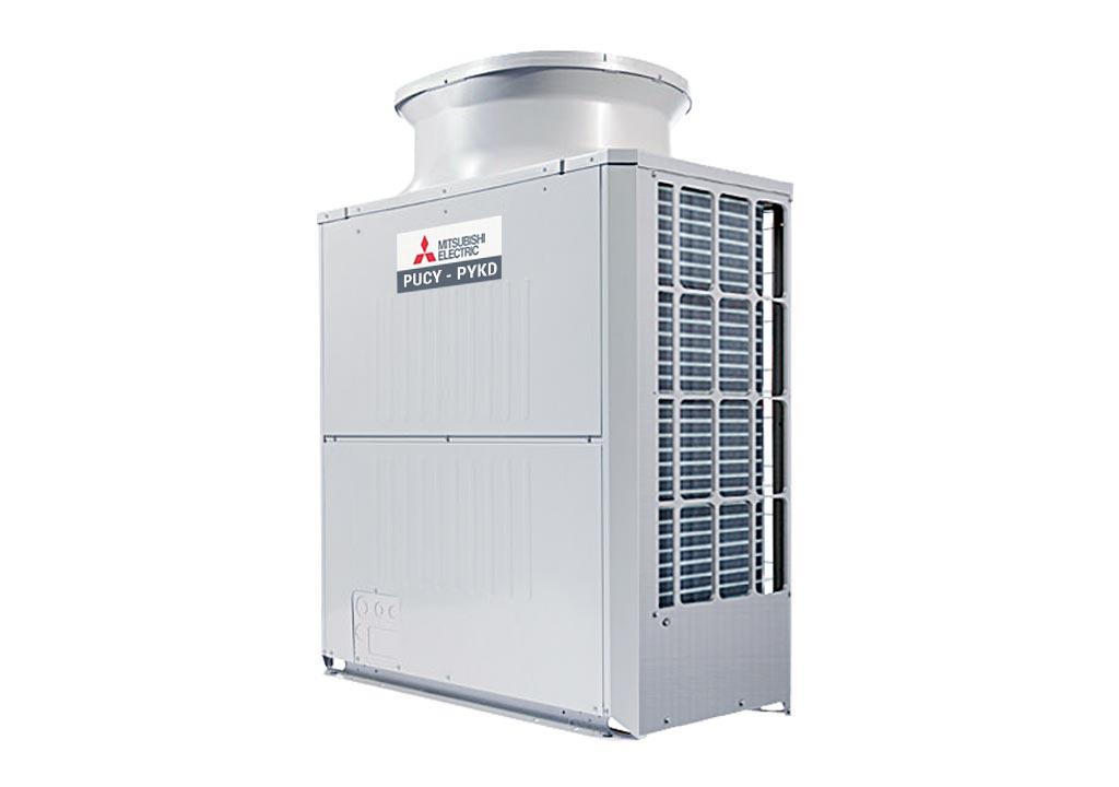 Dàn nóng giải nhiệt gió Mitsubishi Electric inverter (14.0Hp) PUCY-P350YKD.TH (-BS)