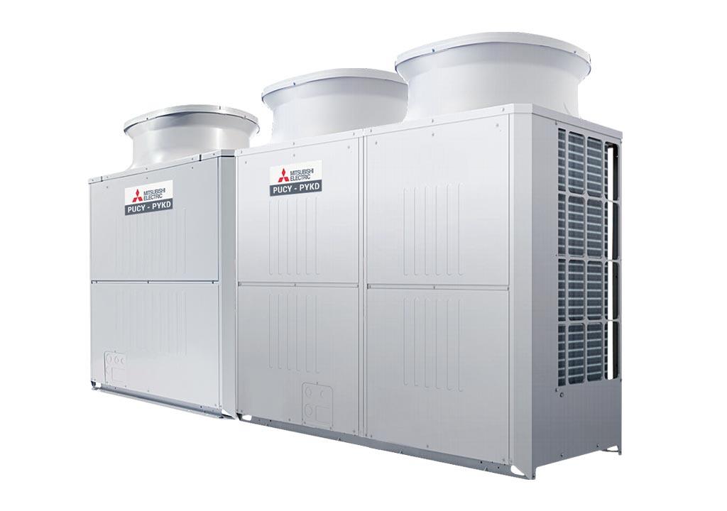 Tổ hợp dàn nóng giải nhiệt gió Mitsubishi Electric inverter (38.0Hp) PUCY-P950YSKD (-BS) (PUCY-P450YKD.TH + PUCY-P500YKD.TH)