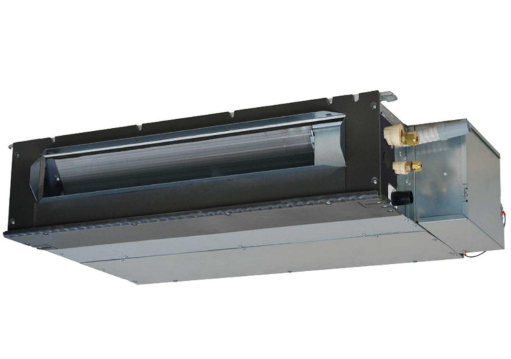 Dàn lạnh giấu trần nối ống gió dạng mỏng VRV Mitsubishi Heavy inverter (0.5Hp) FDUT15KXE6F-E