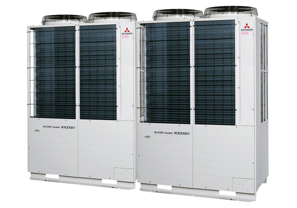 Tổ hợp dàn nóng VRV Hiệu suất cao Mitsubishi Heavy inverter (20.0Hp) FDC560KXZXE1 (FDC280KXZXE1+FDC280KXZXE1)