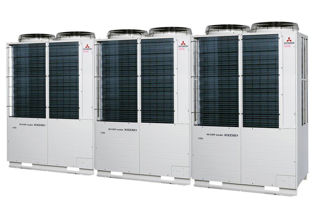 Tổ hợp dàn nóng VRV Hiệu suất cao Mitsubishi Heavy inverter (34.0Hp) FDC950KXZXE1 (FDC280KXZXE1+FDC335KXZXE1+FDC335KXZXE1)