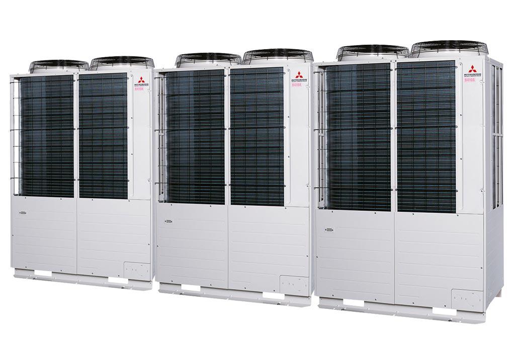 Tổ hợp dàn nóng VRV Tiêu chuẩn Mitsubishi Heavy inverter (52.0Hp) FDC1450KXZE1 (FDC475KXZE1+FDC475KXZE1+FDC500KXZE1)