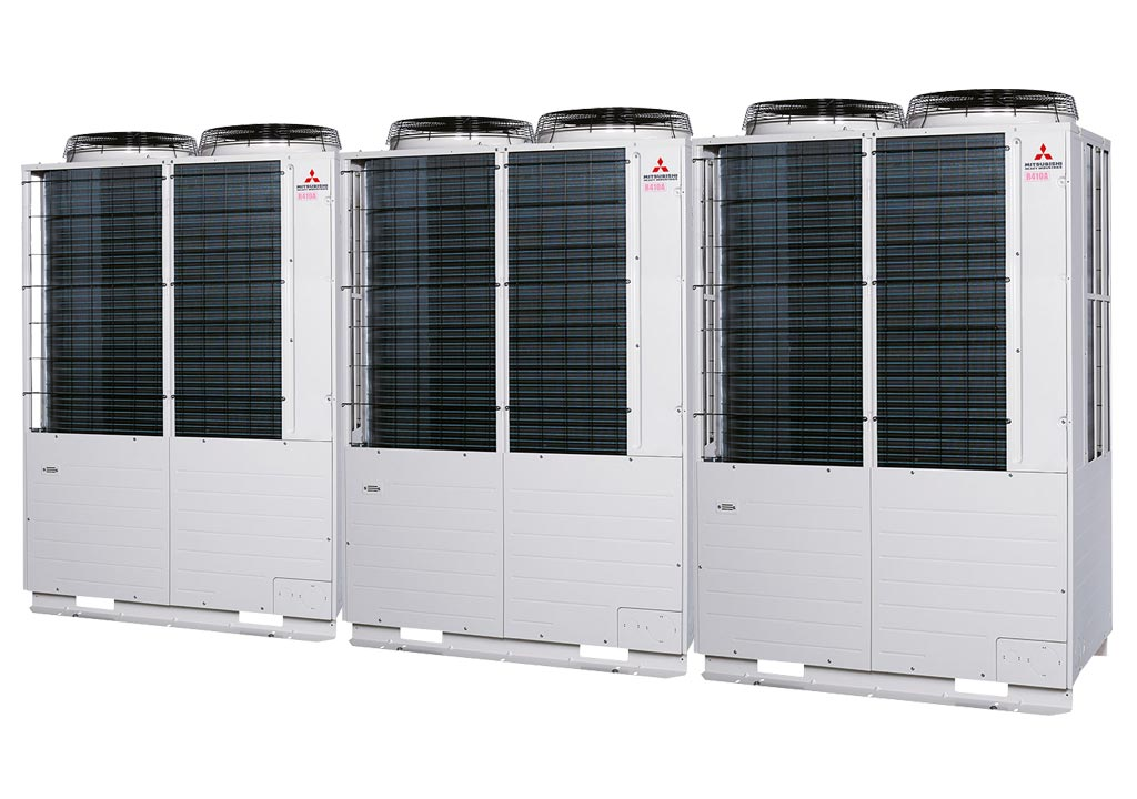 Tổ hợp dàn nóng VRV Tiêu chuẩn Mitsubishi Heavy inverter (60.0Hp) FDC1680KXZE1 (FDC560KXZE1+FDC560KXZE1+FDC560KXZE1)
