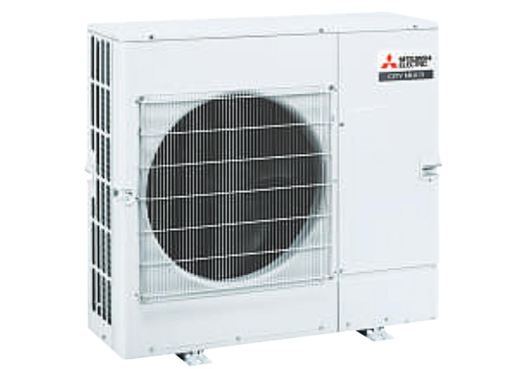 Dàn nóng giải nhiệt gió Mitsubishi Electric inverter (5.0Hp) PUMY-CP125YKM.TH (-BS) - 3 pha