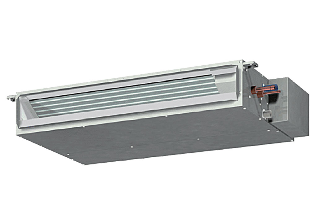 Dàn lạnh âm trần nối ống gió dạng mỏng VRV Mitsubishi Electric inverter (0.6Hp) PEFY-P15VMS1(L)-E.TH