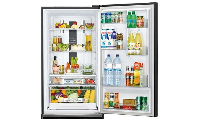 Tủ lạnh Hitachi 415 lít R-B505PGV6 (GBK) ngăn cửa cực lớn