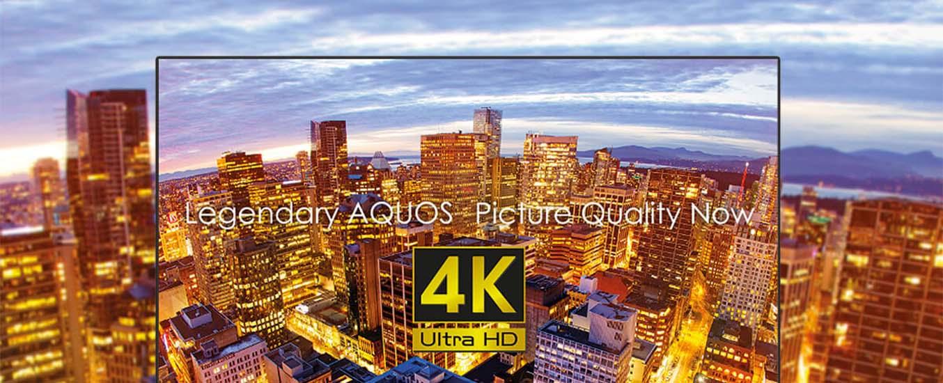 Tivi4K Sharp LC-40UA330X sắc nét
