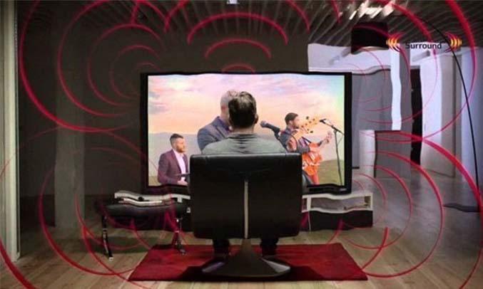 Tivi4K Sharp LC-40UA330X âm thanh trung thực