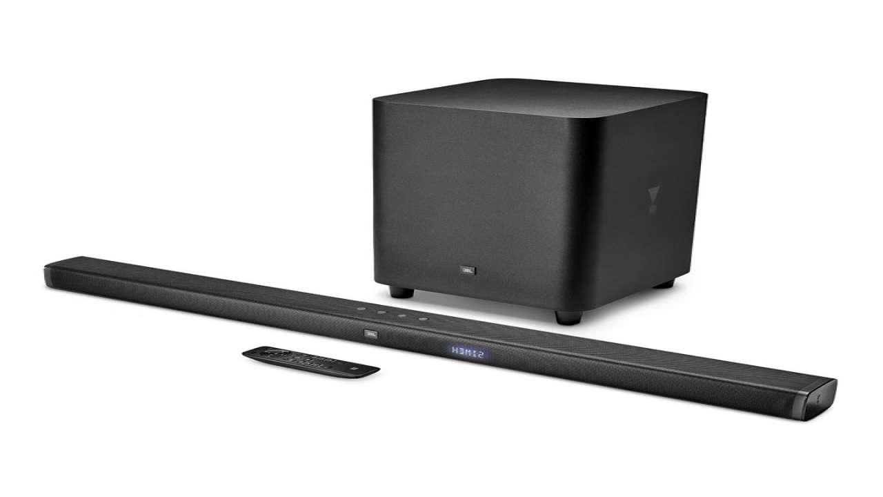 Loa thanh Soundbar 3.1 JBL Bar 3.1