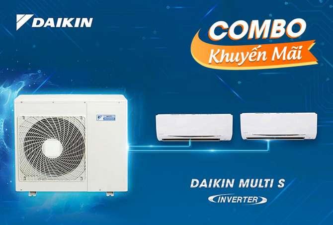 Daikin Multi S system air conditioner inverter MKC50RVMV/CTKC25RVMV+CTKC25RVMV (2.0Hp)