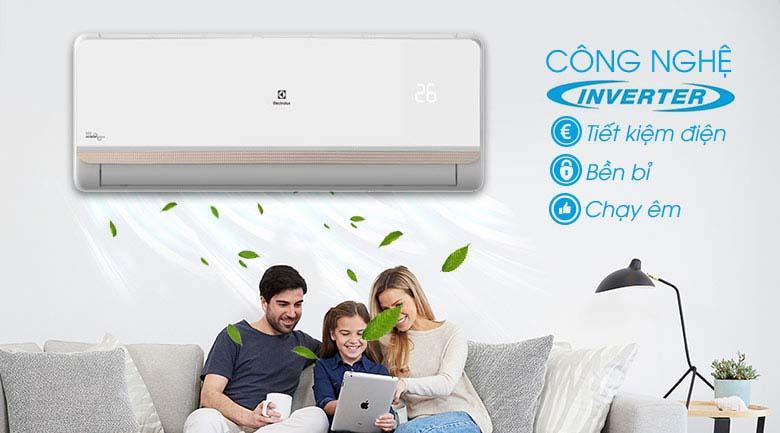 Công nghệ Inverter - Máy lạnh Electrolux Inverter 2 HP ESV18CRR-C2