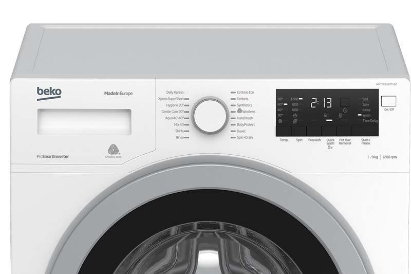 Đa dạng chương trình giặt, phù hợp với nhu cầu người tiêu dùng