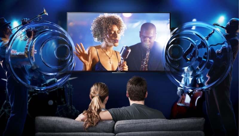 Tivi Sony 32 inch KDL-32R300E - Âm thanh cuồng nhiệt