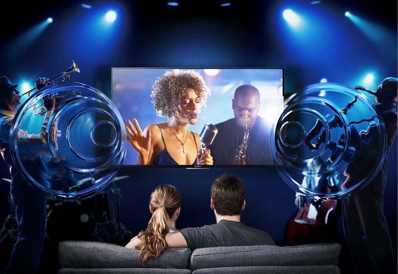 Internet Tivi Sony 49 inch KDL-49W750E - Âm thanh sống động, rõ ràng