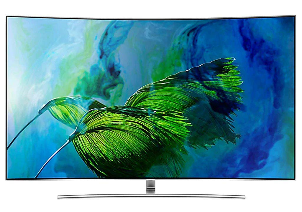 Smart Tivi Cong QLED Samsung 55 inch QA55Q8C