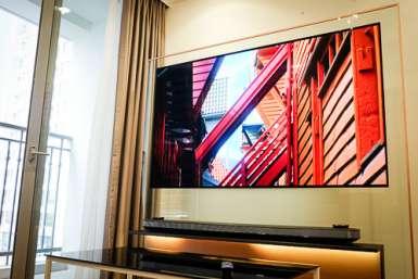 OLED W7 - TV 4K dán tường, mỏng như kính