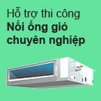 Thi công máy lạnh nối ống gió