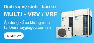 Dịch vụ vệ sinh - bảo trì Máy lạnh