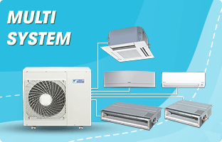 MULTI SYSTEM AIR CONDITIONING